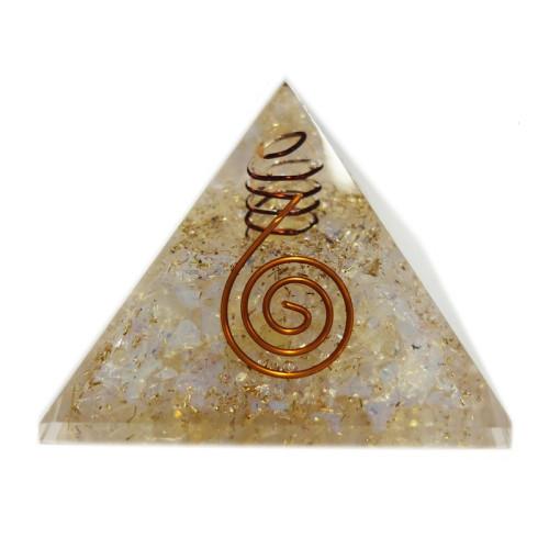 Orgonitová pyramida měsíční kámen
