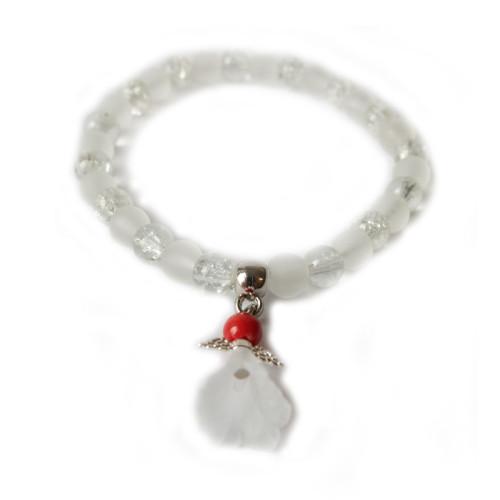 Andělská náramek s korálem