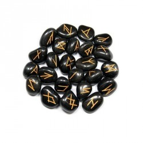 Runy černý jaspis