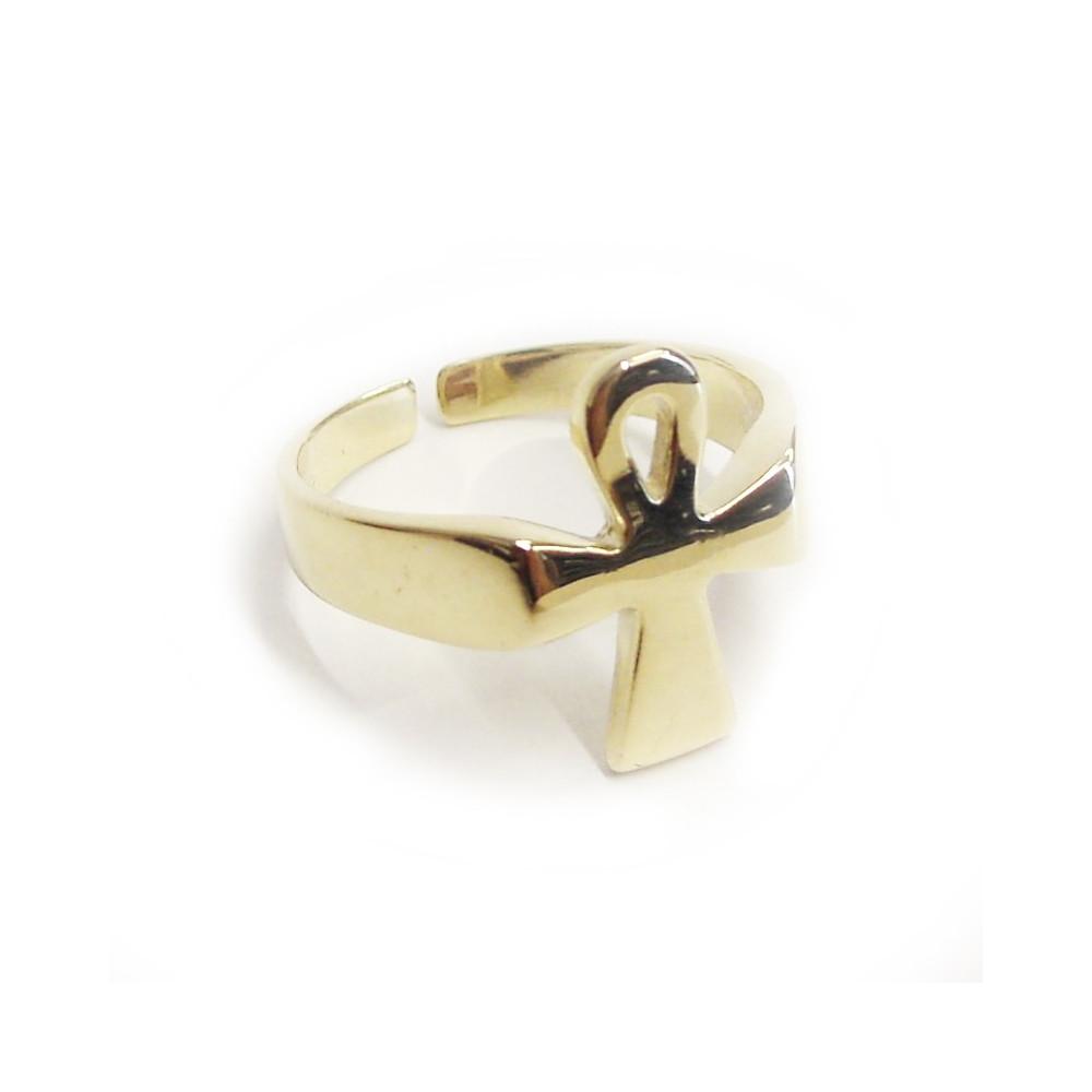 Zlatý prsten s anchem
