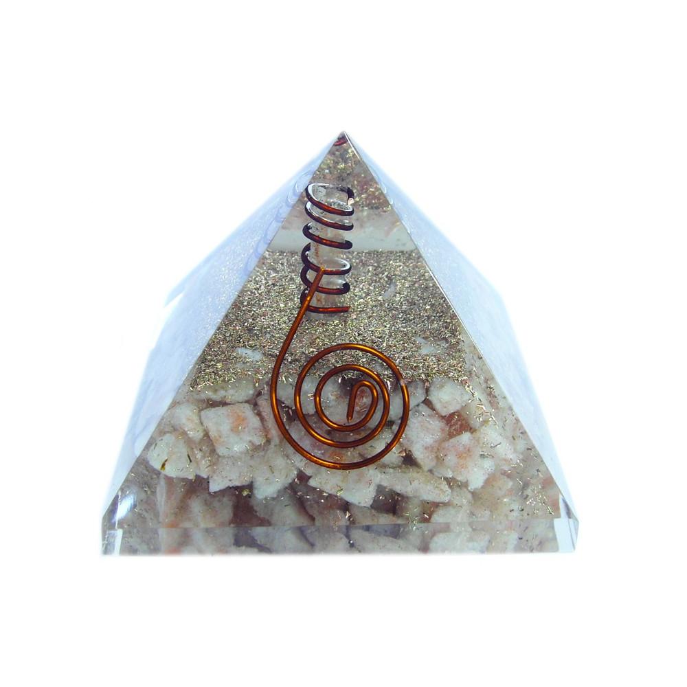 Orgonitová pyramida sluneční kámen