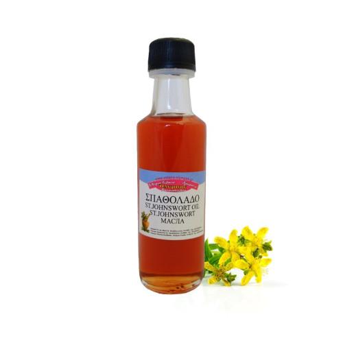 Řecký třezalkový olej
