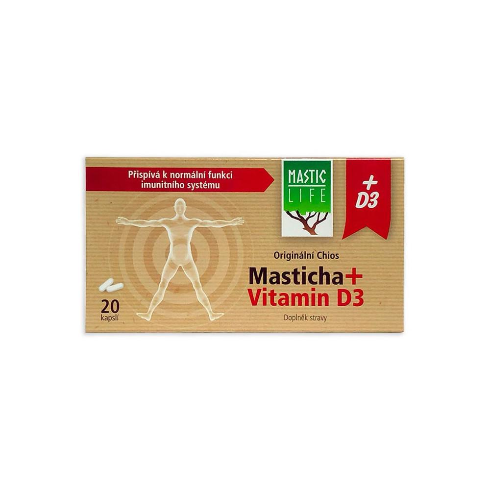 Masticha + Vitamin D3