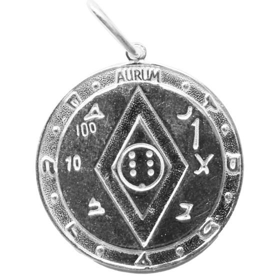 Amulet pentakl bohatství