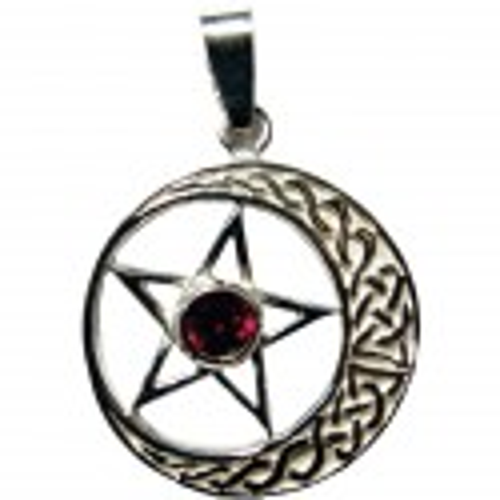 Pentagram s kamenem